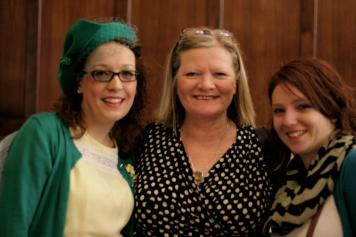 Mrs Fox with the fab Penny and her daughter in law to be!