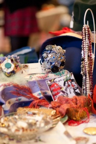 Mrs Fox's Finery and Fancies first Vintage fair!!! - photo courtesy of Sara Norling