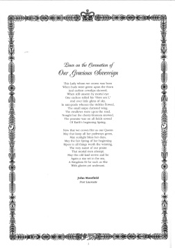 A poem by John Masefield