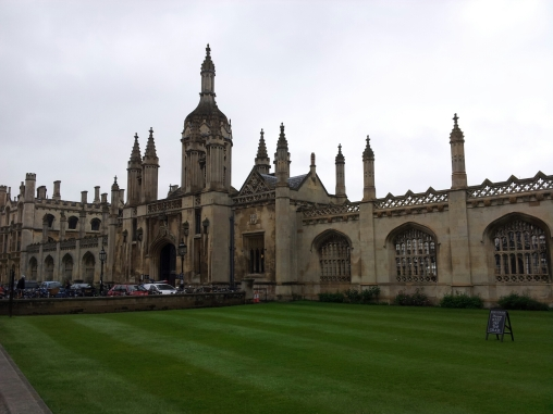 Cambridge - It stopped raining a little to take this picture