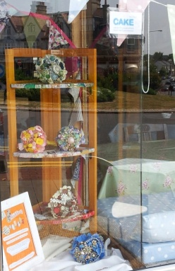 Adding vintage style to the window