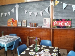 How sweet is the cafe area