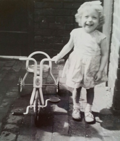 My Mum at 2 years old