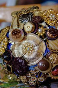 New brooch bouquets go down well at the fair