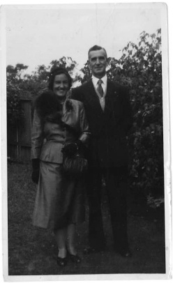 'Mummy and Daddy taken march 1954' on the back