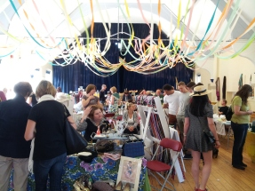 The past and present fair in action