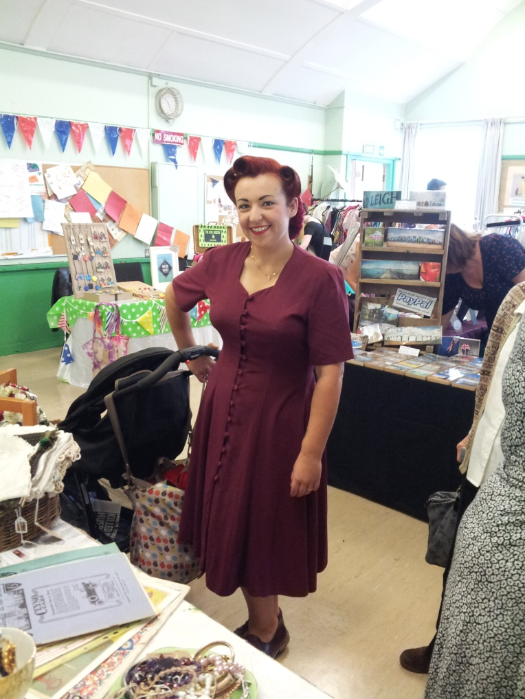 Becky Boo looking very 1940s