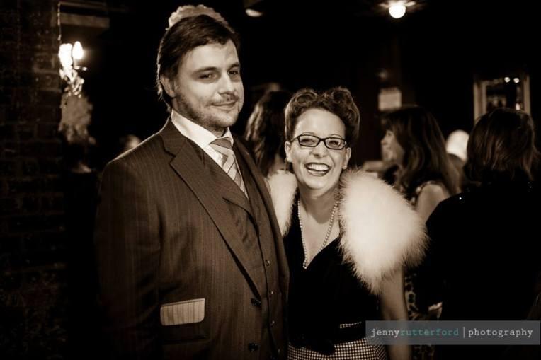 Mrs Fox with Luke from Gresham Blake