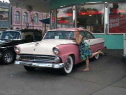 A car from the film American Graffiti - more to follow on this...