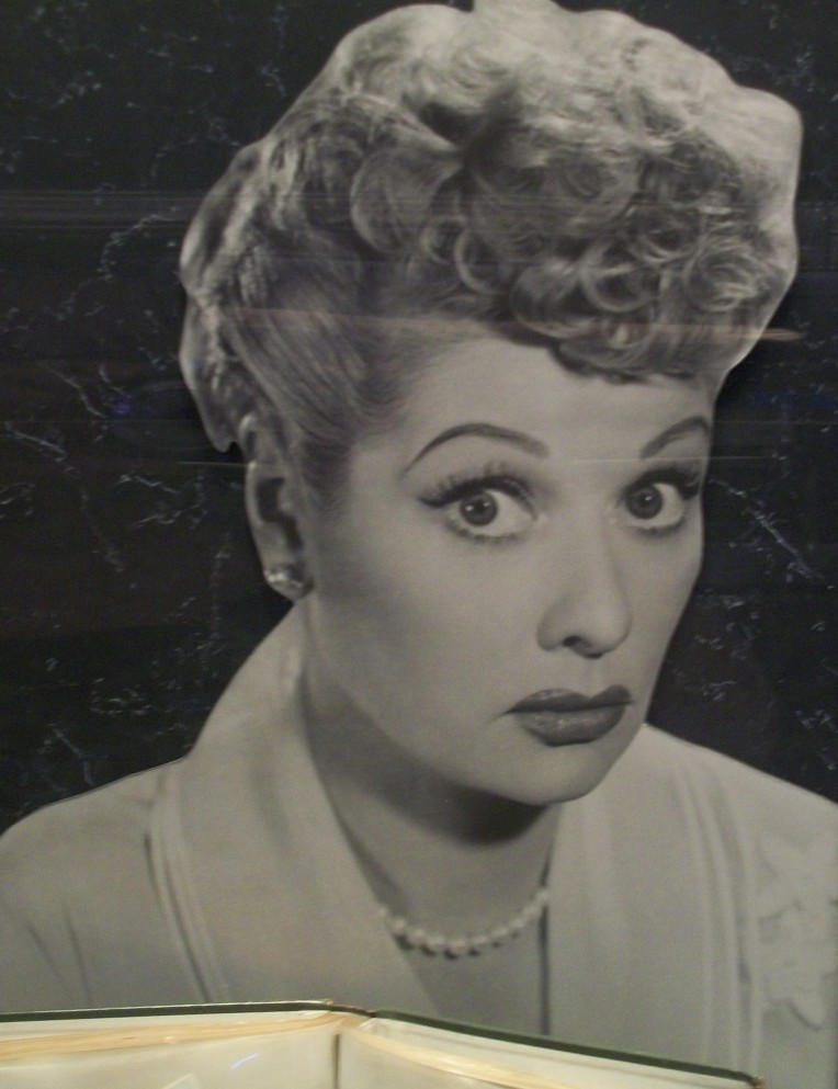 Lucille Ball looking wonderful