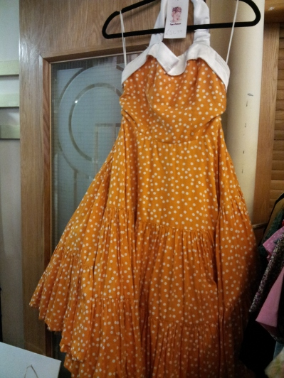 Paper Petticoats Vintage dress - it was too small but I loved it.