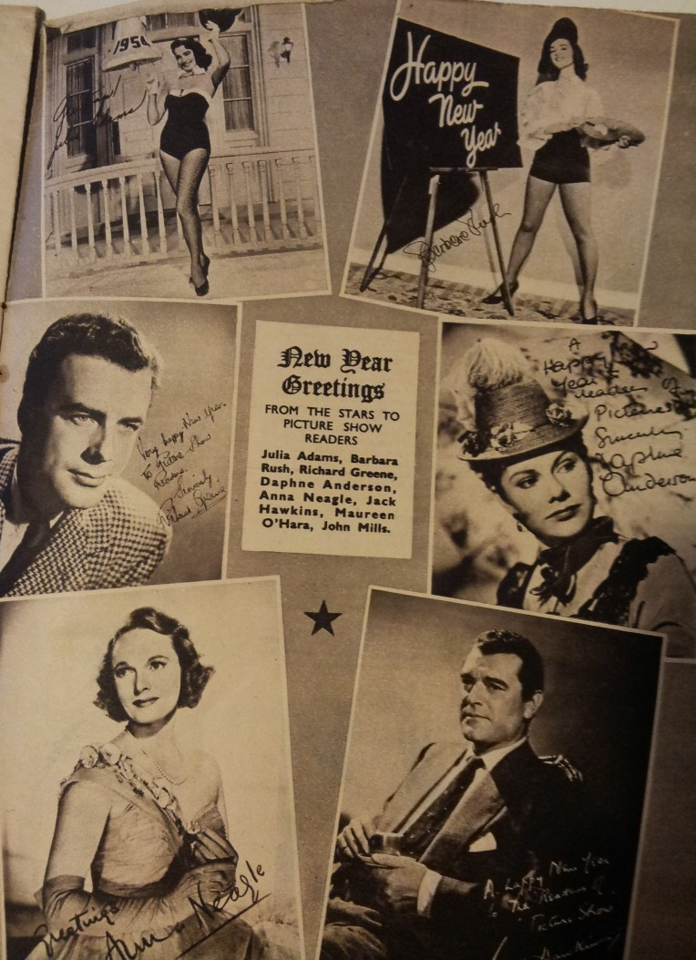 From a January copy of Picture Show 1954