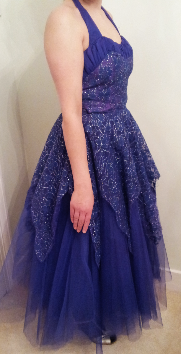 A dress for a snow queen