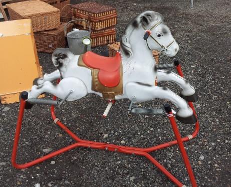 Saw a few rocking horses