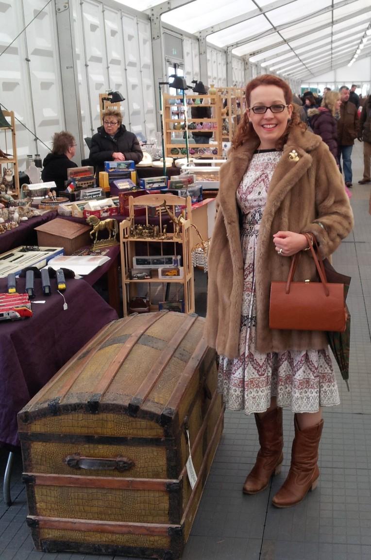 At the antiques fair