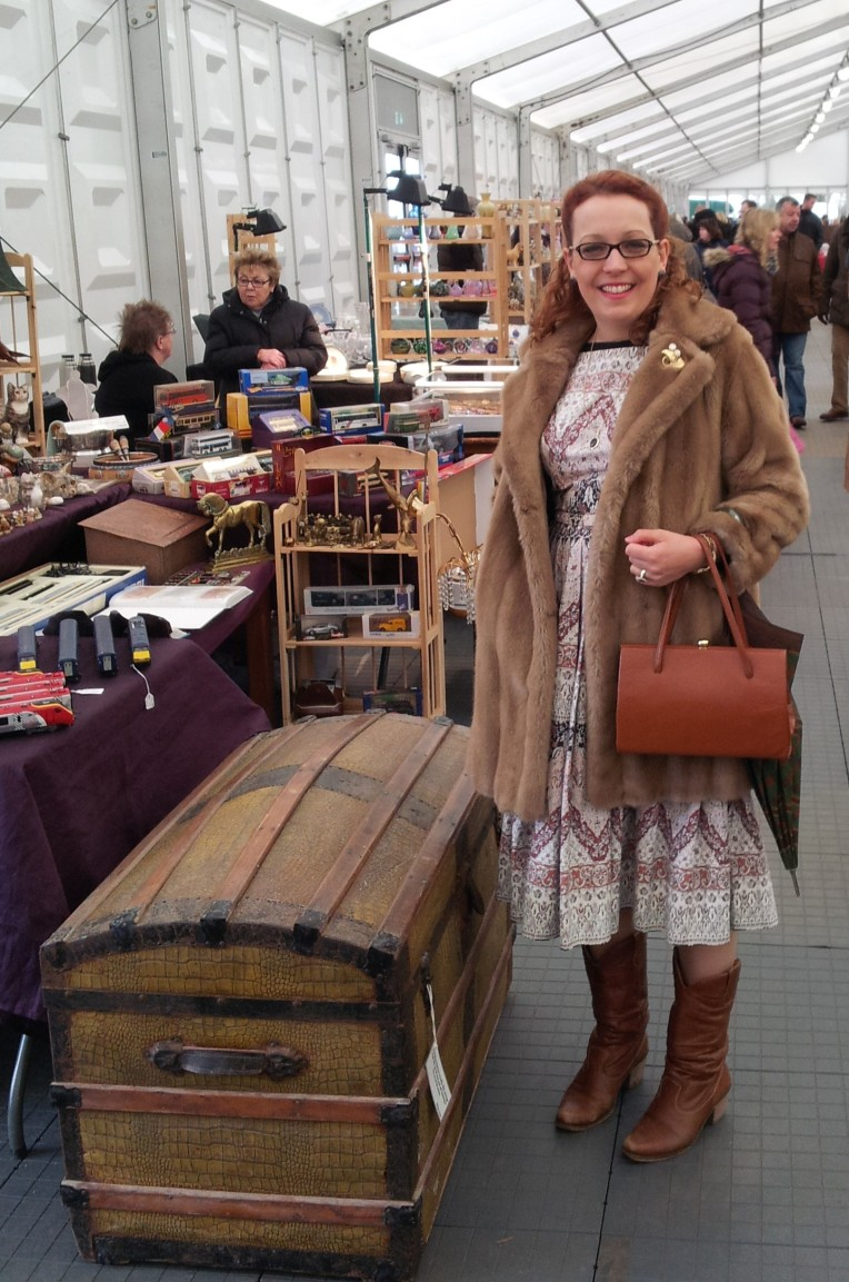 At the antiques fair