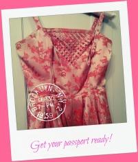 A Wendy pink vintage dress
