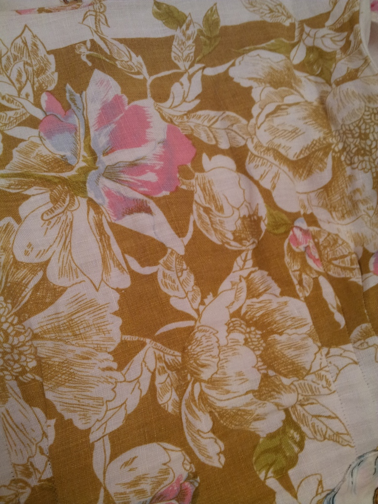 Summer vintage fabric