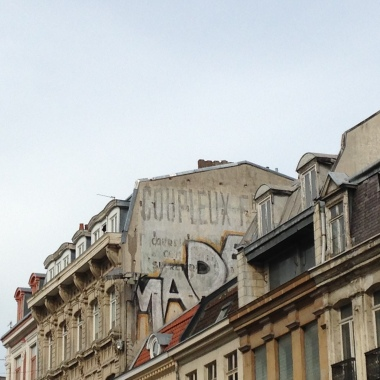 I Liked the markings on the buildings