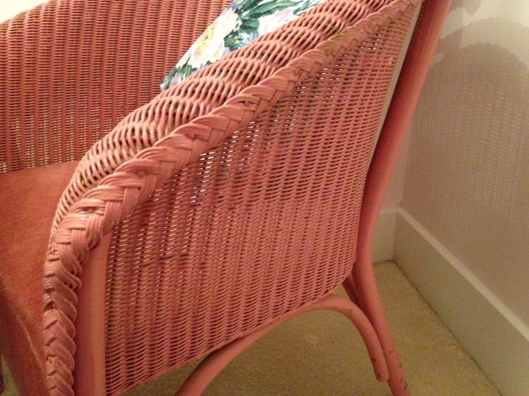 A Lloyd Loom vintage chair