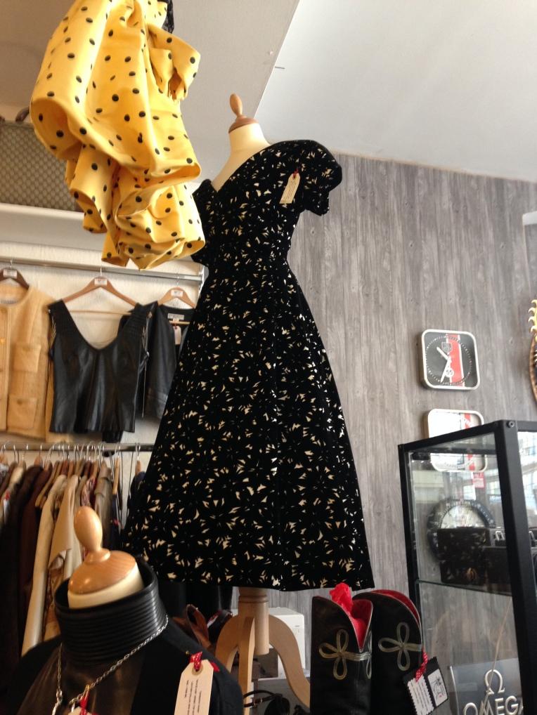 Designer vintage dress