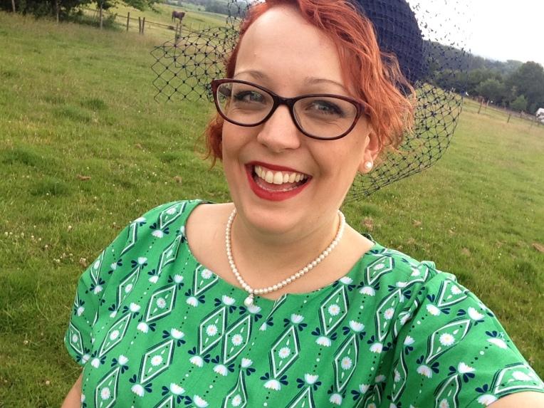Happy in my dress