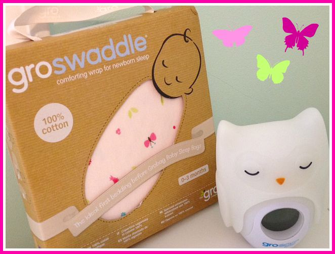 Gro swaddle perfect from new born